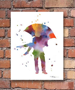 Umbrella-Love-Abstract-Watercolor-Painting-Art-Print-by-Artist-DJ-Rogers