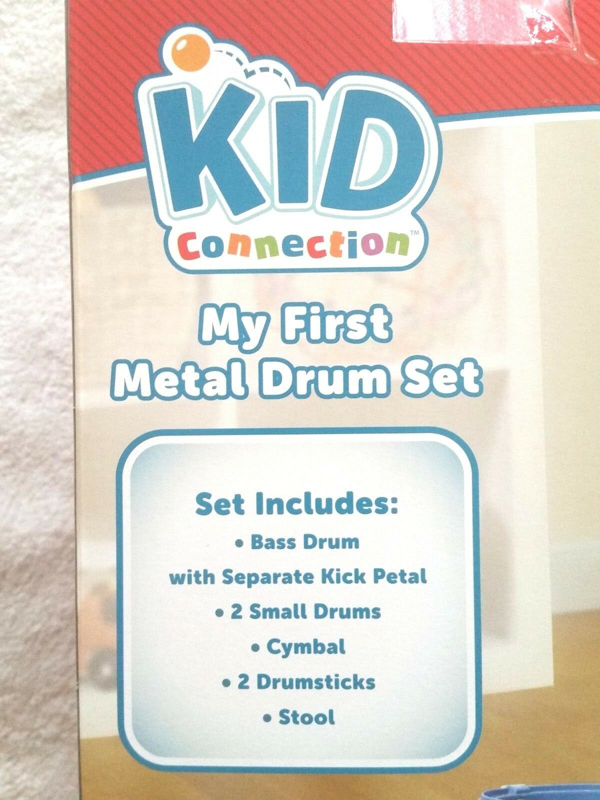New Kids Connection My First Musical Metal 9 Piece Piece Piece Drum Set, Play Band 2aee1c
