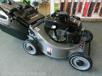 Lawn Mower- With A 5.5hp Honda Engine -mulch Or Catch -19 Inch Cutting Width Dmc