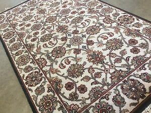 3 X 5 Ivory Green Ziegler Floral Oriental Area Rug Hand Knotted Wool Entrance Ebay