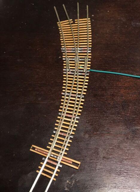 "Atlas #281  /""Mark 3/"" #4 Left-Hand Turnout Track Code 100 Rails HO Scale"