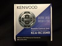 Kenwood Kca-rc35mr Wired Remote For Kmr-350u 355u 550u Kenwood Stereos