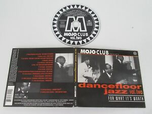 VARIOUS-MOJO-CLUB-DANCEFLOOR-JAZZ-VOL-TWO-POLYDOR-516-441-2-CD-ALBUM-DIGIPAK
