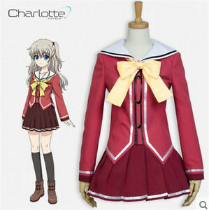 2018 Tomori Nao Cosplay Charlotte Costume Japanese Anime Cosplay Costume Back To Search Resultsnovelty & Special Use Costumes & Accessories