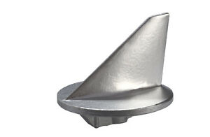 Mercruiser Merc Alpha One Lower Trim Tab Fin Zinc Anode 31640 Mil-Spec USA