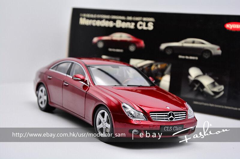 a la venta Kyosho 1 1 1 18 Benz CLS 500 Vino Rojo  tienda en linea
