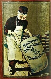 29 Blechdose Kaffee Dose Hamburg Thams & Garfs Antique German Tin Coffe Box Um Jeden Preis