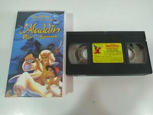 Aladdin-y-el-Rey-de-los-Ladrones-Walt-Disney-VHS-Cinta-Castellano