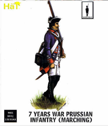 # 9401 Marching Hat 1//32 7 Years War Prussian Infantry