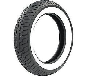 Dunlop d404 front tire 150 80 16 wide white wall for Dunlop white letter motorcycle tires