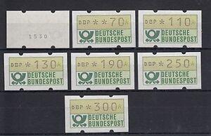 BRD-Automatenmarken-7-Ergaenzungswerte-Mi-Nr-1-1-hu-VS-2-postfrisch