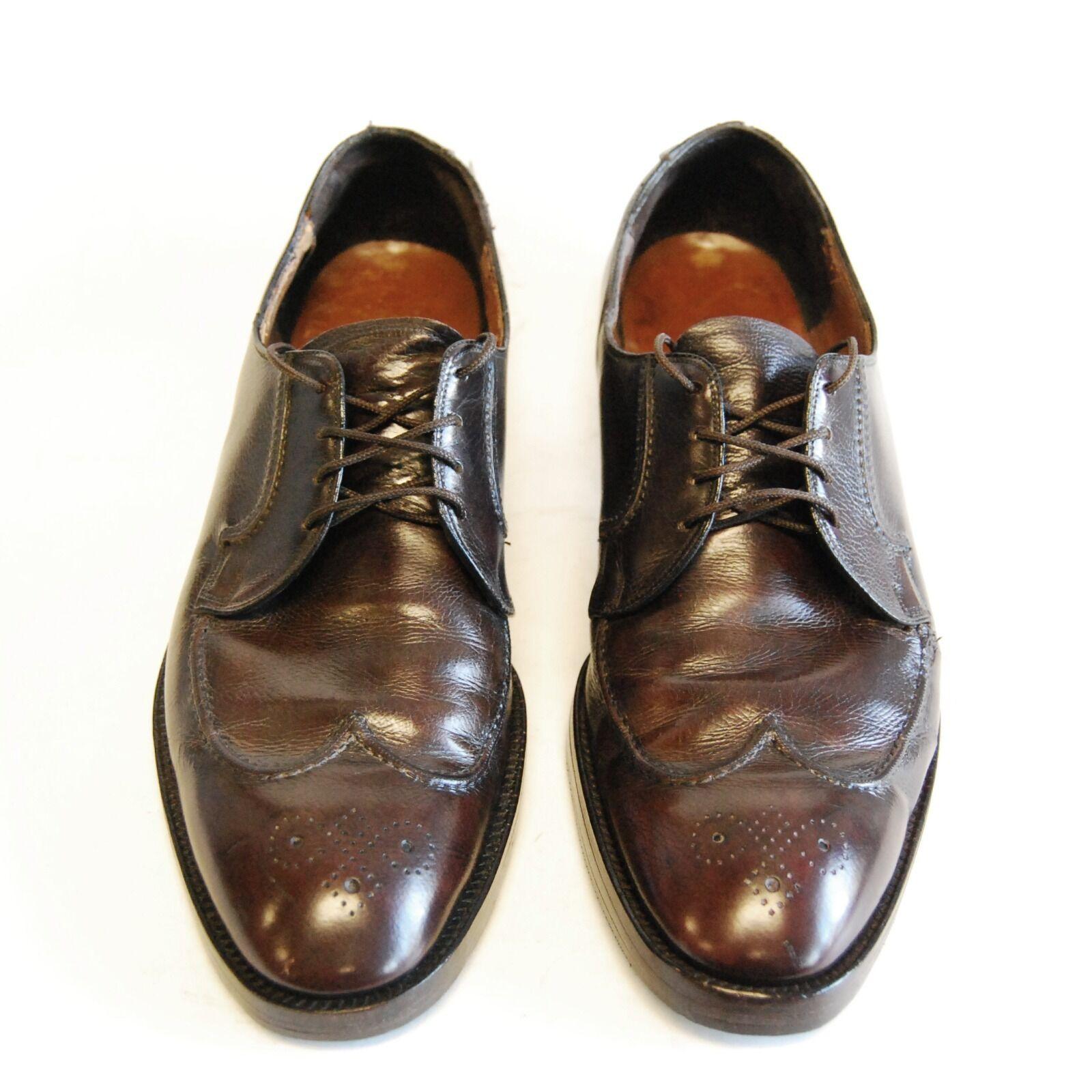 spedizione veloce in tutto il mondo NUNN BUSH Uomo Marrone Leather Dress scarpe US 10.5, EU EU EU 44.5    EXCELLENT COND  designer online