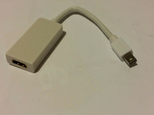 Apple Macbook Mini Display Port auf HDMI Stecker Neu!!! 15cm ca