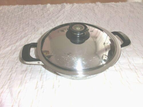 AMC Topf mit Visiotherm Deckel 2 Teilig 24 cm 2,6 Liter