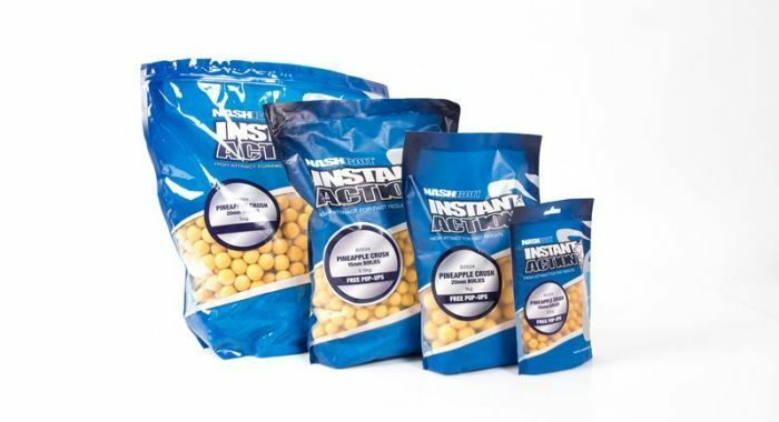 NASH BAIT Instant Action Boilies 5KG  - Full Range - FREE NEXT DAY COURIER