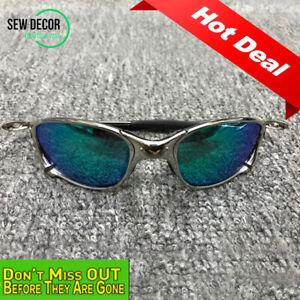 X-Metal Juliet Cyclops Sunglasses Ruby Polarized Lenses 6 Color Titanium Goggles