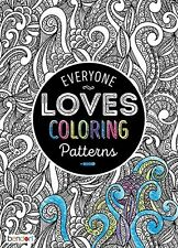 Adult Coloring Book Patterns Bendon 40 Pages Made in USA | eBay