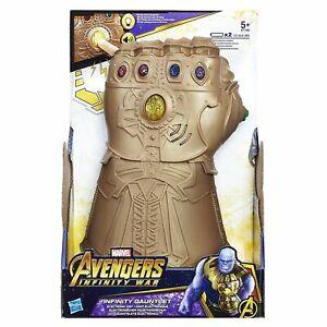 Thanos Infinity Gauntlet Avengers - Marvel War - Figurine électronique à poing - Jouet