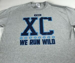 Pope-T-Shirt-Adult-SZ-M-L-Cross-Country-Greyhounds-High-School-We-Run-Wild-XC