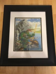 RARE-90-039-s-TMNT-Teenage-Mutant-Ninja-Turtles-lithograph-collection