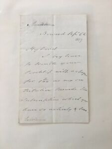 HENRY (MARQUESS OF LANSDOWNE V) PETTY-FITZMAURICE - SIGNATURE