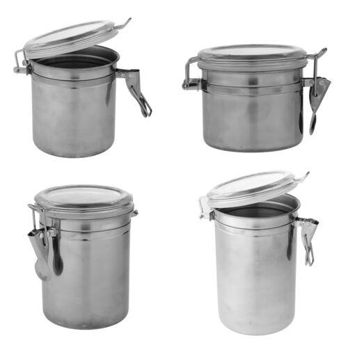 Kaffeedose Metall Vorratsbehälter Edelstahl Behälter mit Deckel für Kaffee,