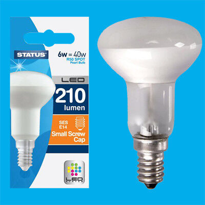 NEW 6 x R50 Sportlights Lamp 40W SES E14 Reflector Spot Light Incandescent Bulbs
