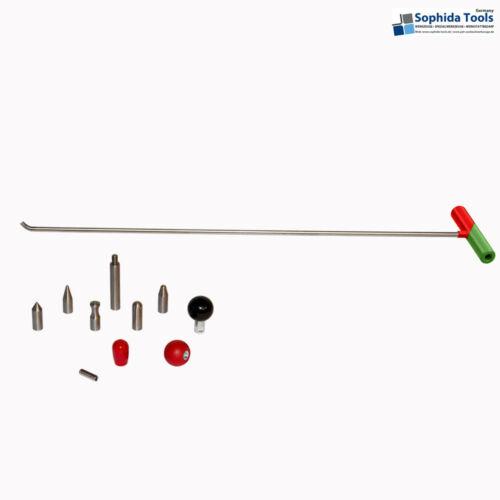 1 Universalhebel Wechselspitzen PDR Ausbeulwerkzeug Smart Repair D10 //1000 mm #9