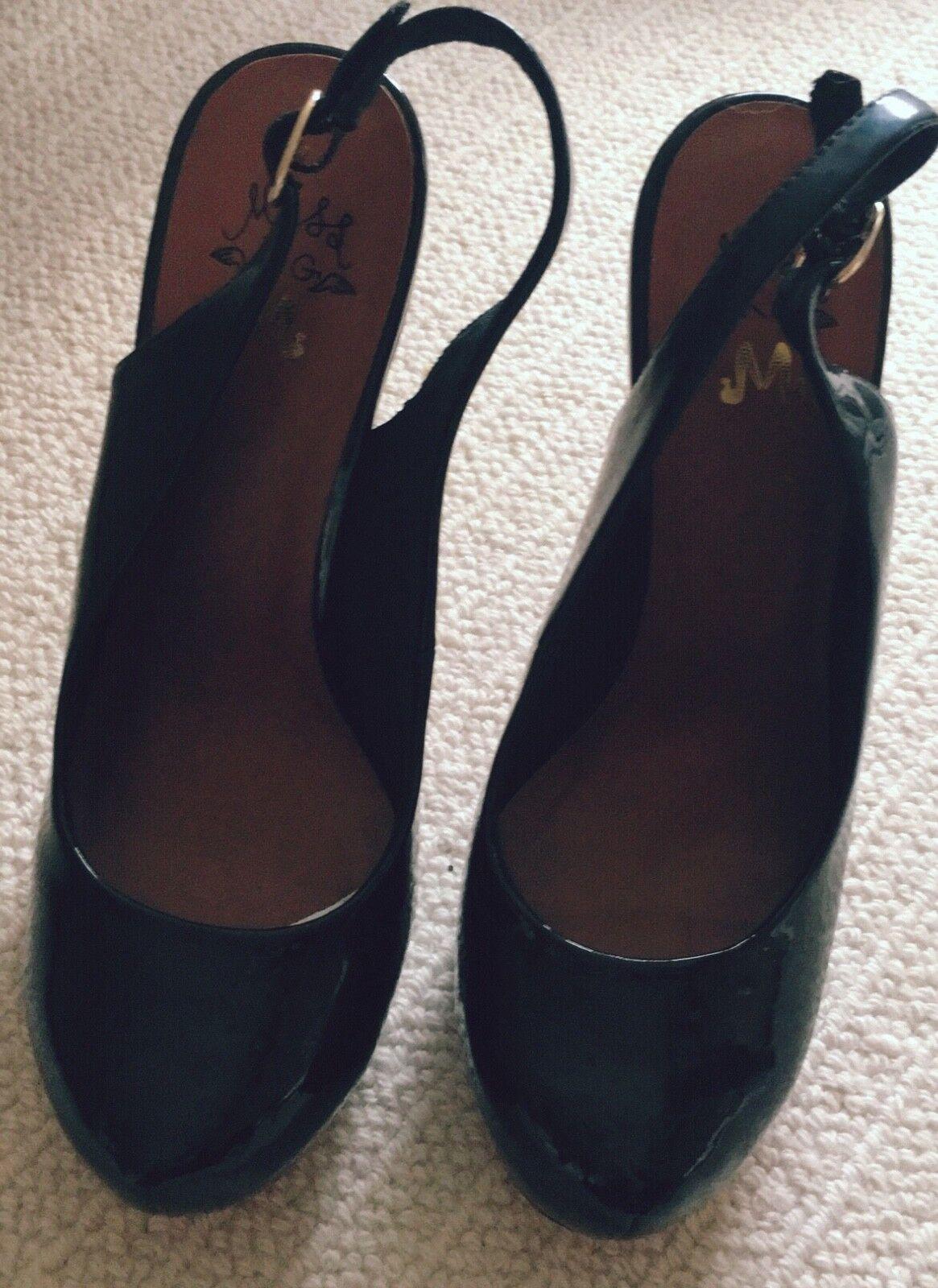 c24e7e04b9806 ... Carvela Da kg Sandali Sandali Sandali in vernice nera tacco alto scarpa  bbebe8 ...