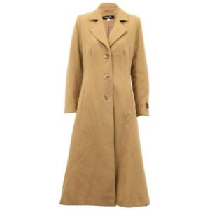 Trench Cashmere Damejakke Ladies Fodret Overtøj Overcoat Uld Coat Vinter qxZFEwCtX