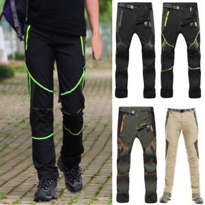 Caricamento dell immagine in corso Uomo-Pantaloni-da-Trekking -Arrampicarsi-Esterno-Termica-Pantaloni- 922cafaf31ab