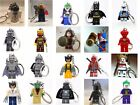Minifigure Keychain, Keyring Fits Lego - Iron Man Starwars Deadpool Batman