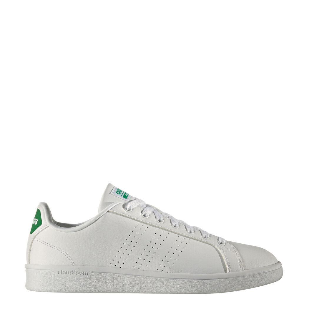 Adidas Neo Advantage Clean Cloudfoam Sneaker Sneaker Sneaker Blanc/Vert [aw3914] | Prix Modéré  394019