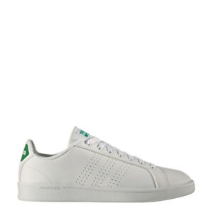Details zu adidas neo Advantage Clean Cloudfoam Sneaker weißgrün [AW3914]