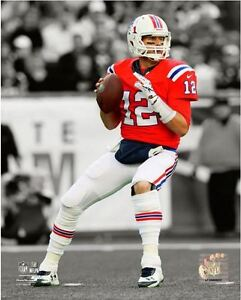 Tom Brady New England Patriots 2012 Spotlight Action 8x10 Unsigned ... 3d142bc6a