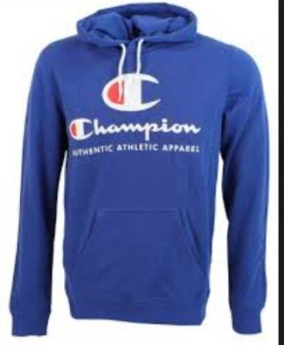 CHAMPION OTH MENS HOODY SWEATSHIRT TOP BLUE HOODIE NEW M L XL