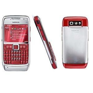 Red-Original-Nokia-E71-Unlocked-Mobile-Cell-Phone-QWERTY-Keypad-Wifi-3G-3-15MP