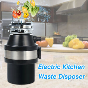 1/2HP 2600 RPM Electric Kitchen Waste Disposer Food Garbage Disposal ...