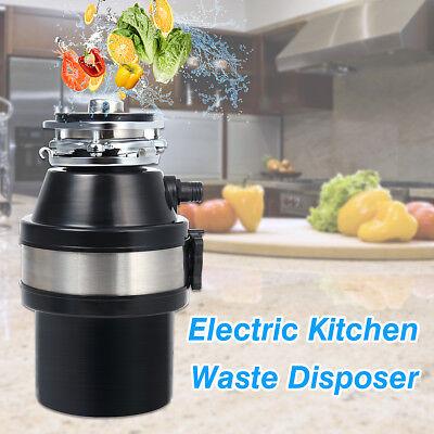 1/2HP 2600 RPM Electric Kitchen Waste Disposer Food Garbage Disposal  Shredder   eBay