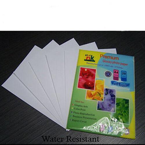 200 Hojas 210gsm 4 X 6 De Inyección De Tinta Glossy Photo Paper 6 x4