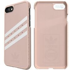 "adidas Originals Suede iPhone 7 4,7"" Back Cover Hard Case Schutz Hülle rosa pink"