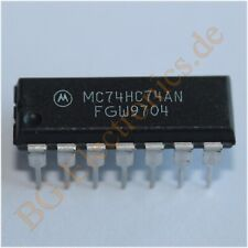 1 x D7312CP DUAL CHANNEL PRE-AMP WITH ALC Silicore DIP-14 1pcs