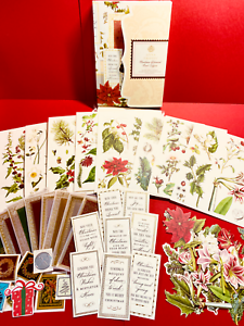 Anna Griffin Christmas Botanical Card Toppers Set of 8