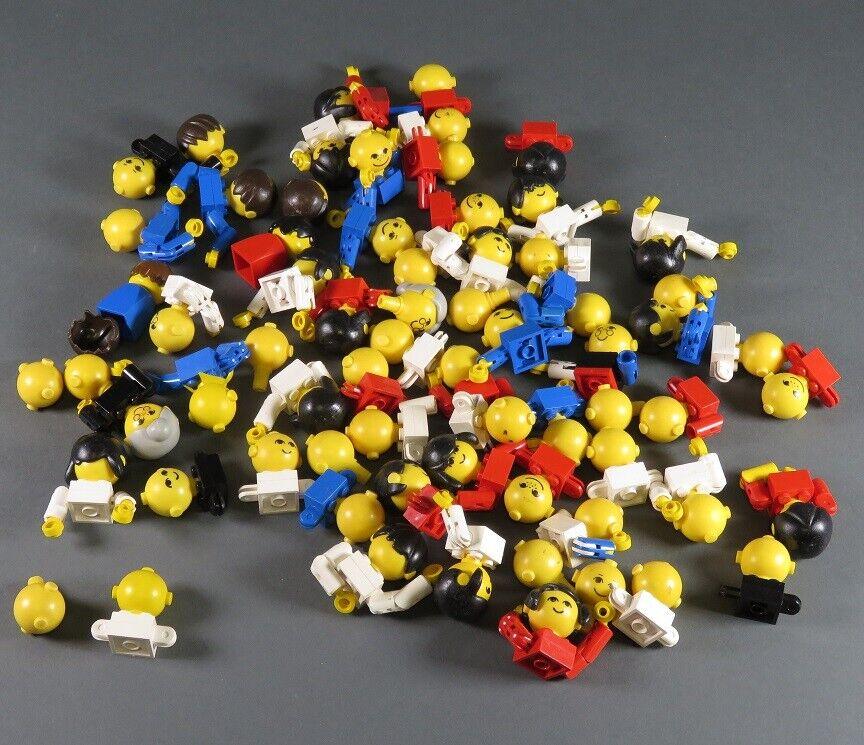 Lego Exponer Homemaker Cabezal Grande Figura con Brazos 70er Años 685px