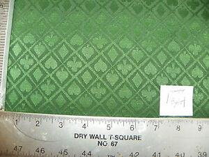 Spades-Hearts-Clovers-Diamonds-Green-Damask-Fabric-1-Yard-R44