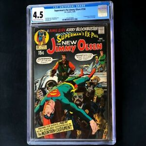 Superman's Pal Jimmy Olsen #134 💥 CGC 4.5 💥 1st App of DARKSEID (Cameo)! Comic