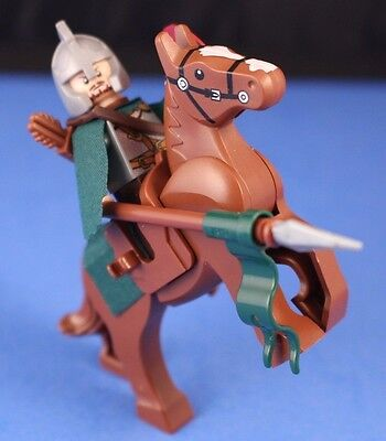 LEGO SKELETON Minifigure CASTLE LORD OF THE RINGS  Horse ARMY Builder Cape