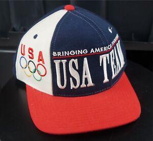 ff1d8cd47f9 Image is loading Rare-VTG-STARTER-Team-USA-Bringing-America-Together-