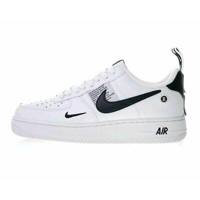 best sneakers 7b8d6 21602 2019 Air Force 1 07 LV8 Utility Scarpe uomo nero   bianco scarpe sportive  36,