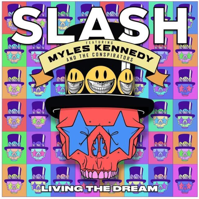SLASH ft. MYLES KENNEDY - LIVING THE DREAM - NEW CD ALBUM 2018